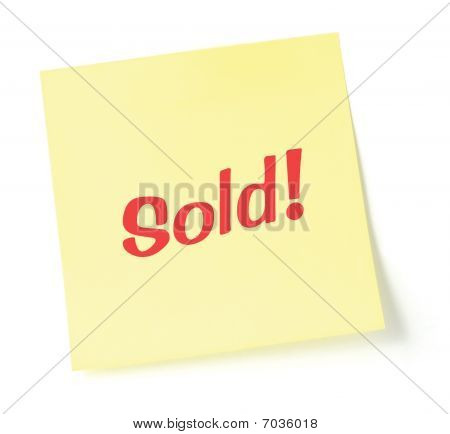 Sold Note