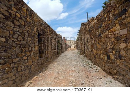 Real De Catorce Streetscape