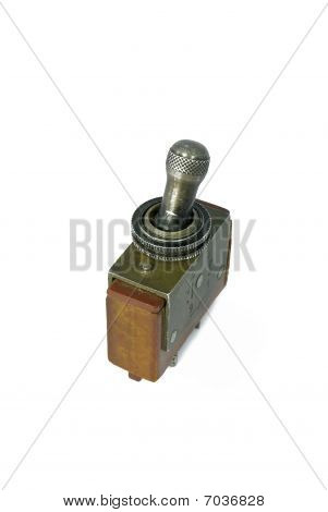 Old Sovjet Military Toggle Switch