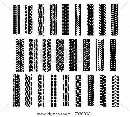 Tire shapes set