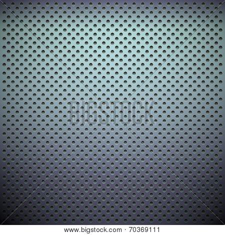 Metal Grid. Vector background