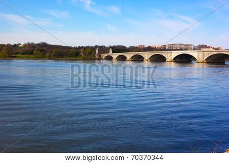 Arlington Memorial Bridge Washington DC USA.