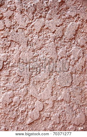 Uneven Surface Of Cement Wall.