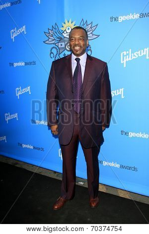 LOS ANGELES - AUG 17:  Levar Burton at the 2nd Annual Geeky Awards at Avalon on August 17, 2014 in Los Angeles, CA