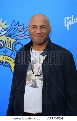 LOS ANGELES - AUG 17:  Randy Couture at the 2nd Annual Geeky Awards at Avalon on August 17, 2014 in Los Angeles, CA
