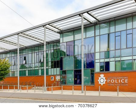 Police Station - Newark, Nottingham, England