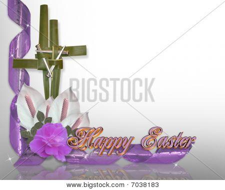 Easter cross border