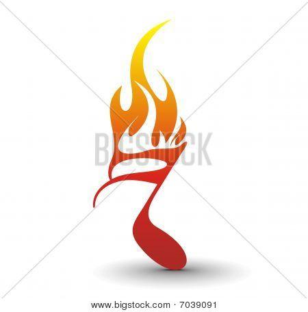 Fire note