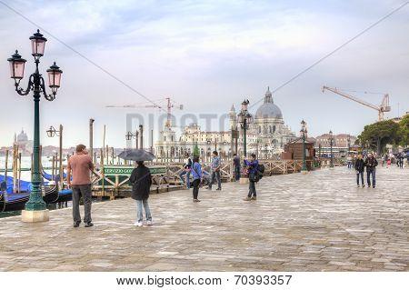 Riva Degli Schiavoni. Embankment. Venice