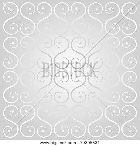 Silver Decorative Lattice