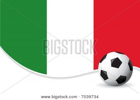 Italy football background