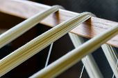 picture of loom  - Selective focus - JPG