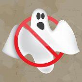 stock photo of casper  - Image of flying ghost for design - JPG