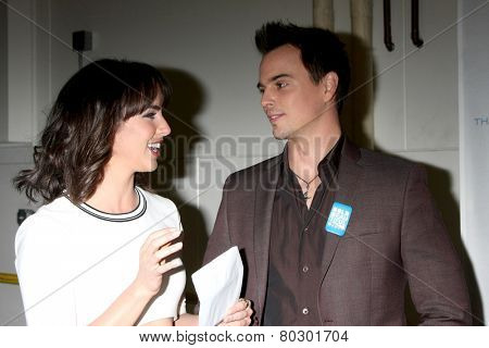 LOS ANGELES - JAN 14:  Ashleigh Brewer, Darin Brooks as the  Bold and Beautiful Celebrates 7000th Show at a CBS Television City on January 14, 2015 in Los Angeles, CA