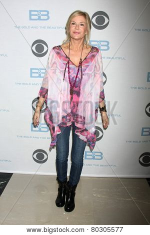 LOS ANGELES - JAN 14:  Katherine Kelly Lang as the  Bold and Beautiful Celebrates 7000th Show at a CBS Television City on January 14, 2015 in Los Angeles, CA