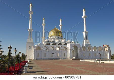 Nur Astana mosque, Astana, Kazakhstan.