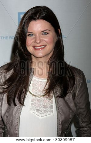 LOS ANGELES - JAN 14:  Heather Tom as the  Bold and Beautiful Celebrates 7000th Show at a CBS Television City on January 14, 2015 in Los Angeles, CA