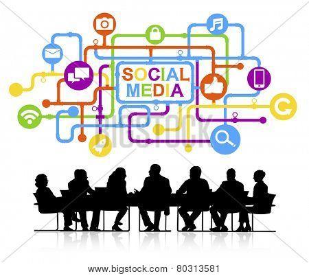 Types of social medias.