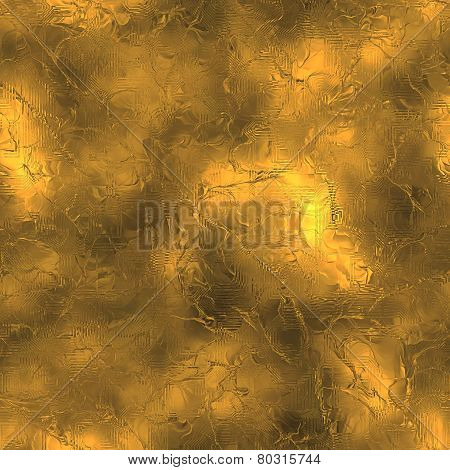 Golden Foil Seamless Texture