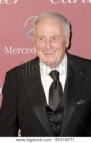 PALM SPRINGS, CA - JAN 3:  Jerry Weintraub arrives at the 2015 Palm Springs International Film Festival Awards Gala at the Palm Springs Convention Center on January 3, 2015 in Palm Springs, CA.