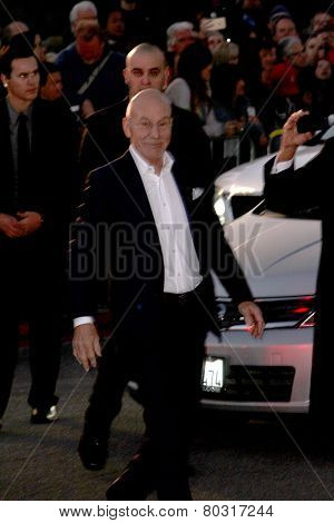 PALM SPRINGS, CA - JAN 3: Patrick Stewart arrives at the 2015 Palm Springs International Film Festival Awards Gala at the Palm Springs Convention Center on January 3, 2015 in Palm Springs, CA.