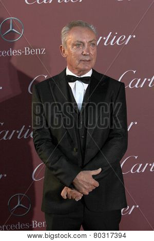PALM SPRINGS, CA - JAN 3: Udo Kier arrives at the 2015 Palm Springs International Film Festival Awards Gala at the Palm Springs Convention Center on January 3, 2015 in Palm Springs, CA.
