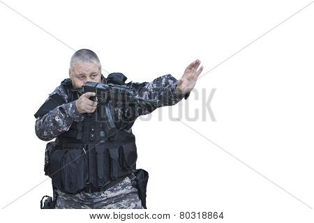 Fight against terrorism, Special Forces soldier, police swat,