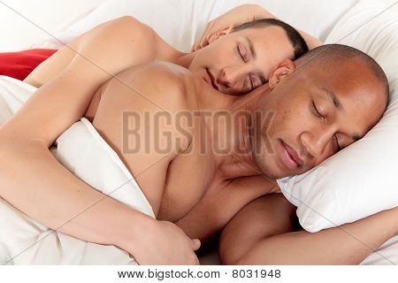 gemischte erwachsen Homosexuell Paar