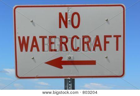 No watercraft