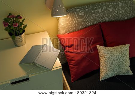Book On The Nightstand