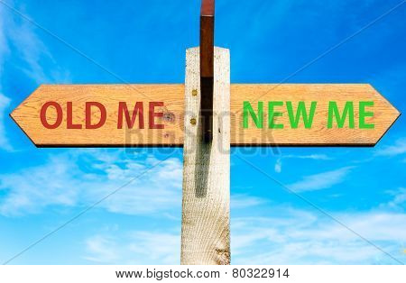 Old Me versus New Me