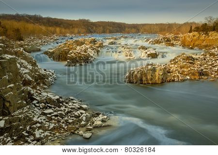 Icy Waters at Great Falls