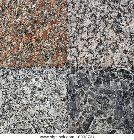 Collection Of Granite Textures