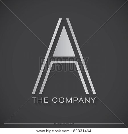 Letter A Logo, Icon, Design Template Elements for Your Company | EPS10 Vector