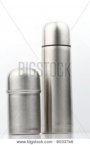 Small and big thermal flask