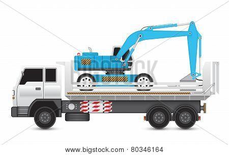 Backhoe hydraulics hammer