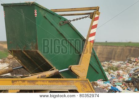 Container On The Dump