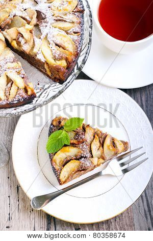 Chocolate Pear Cake,