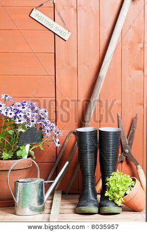Abrigo de jardim