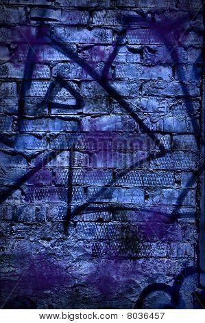 Grunge Background - Graffity