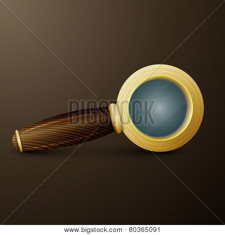 old magnifier