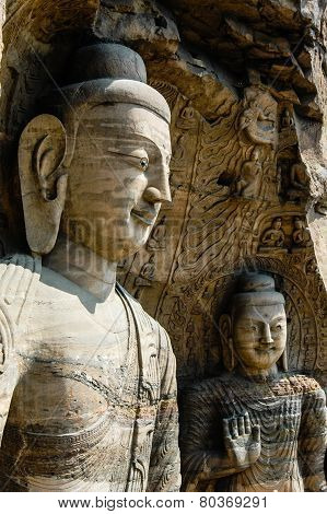 Two Huge Bodhisattvas