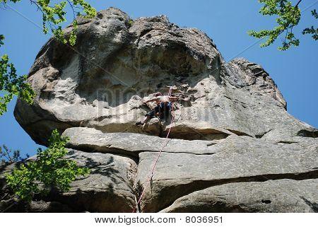 The rock-climber.