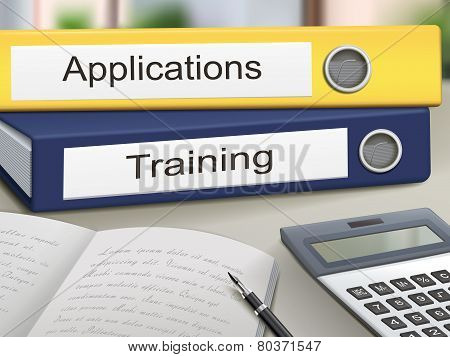 Applications And Training Binders