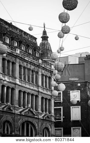 Oxford Street Before Christmas