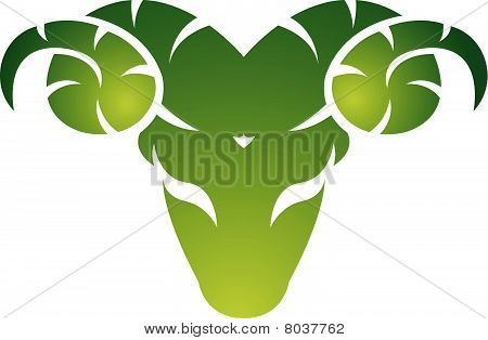 Green aries icon