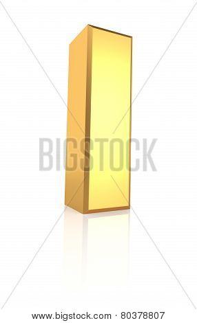 3D Letter I