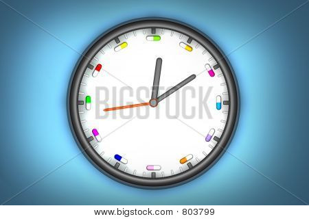 Pill o clock