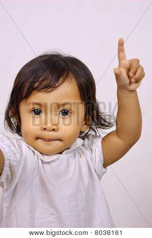 Baby Raise Hand