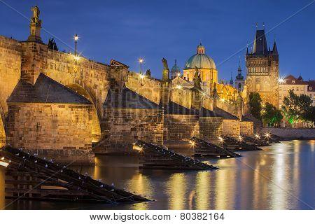 Charles Bridge  - Prague , Czech Republic
